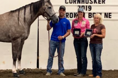Hallie Hanssen and Mean Cheerleader are Cornhusker Futurity 2019 Champions, winning over $11K