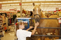 Sadie with Ivory Pal in Tractor Supply