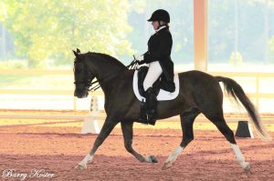 , Shelly Temple earns her USDF silver medal with Cooper