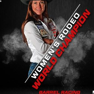 Hallie Hanssen Rodeo World Champion