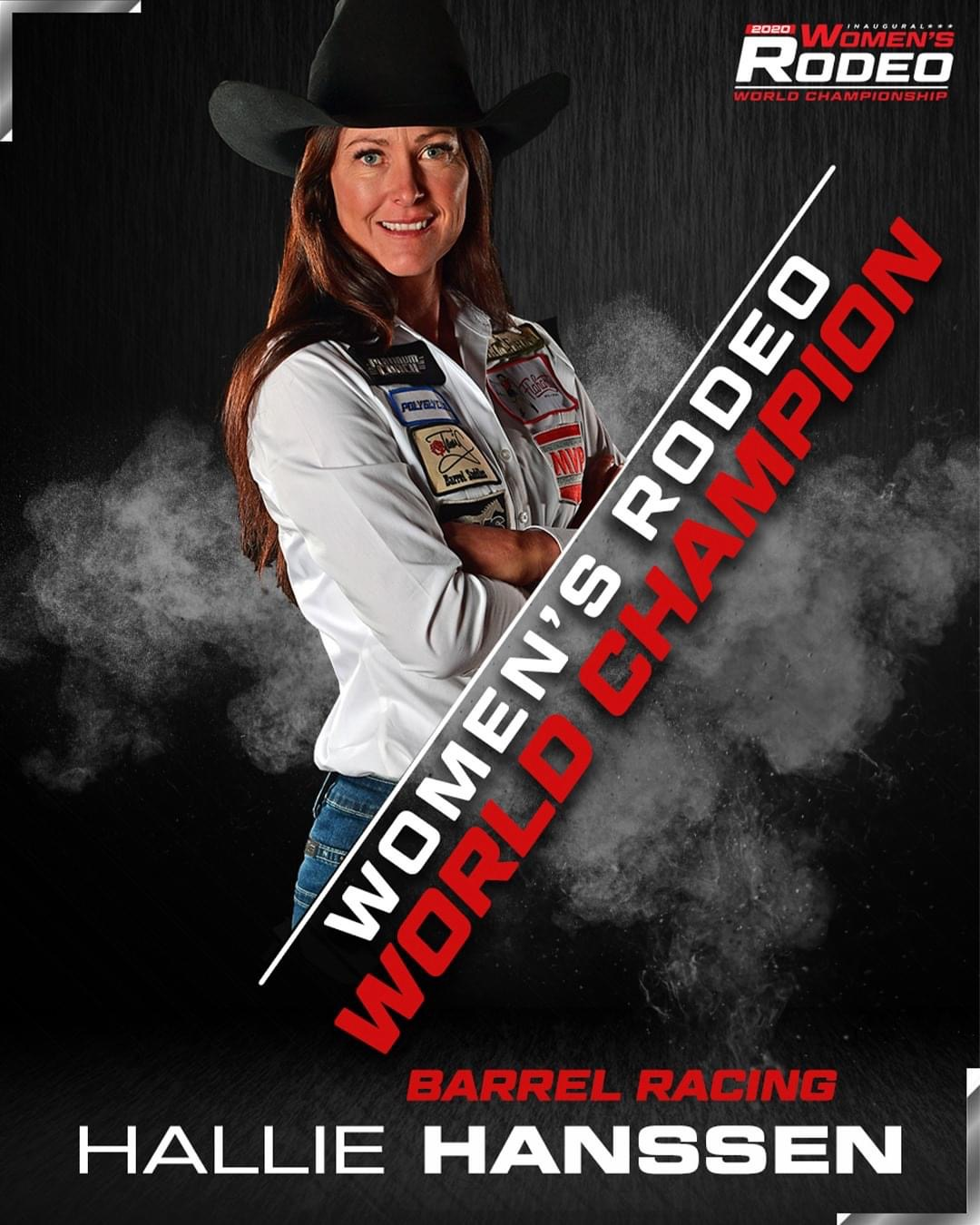 Hallie Hanssen Rodeo World Champion
