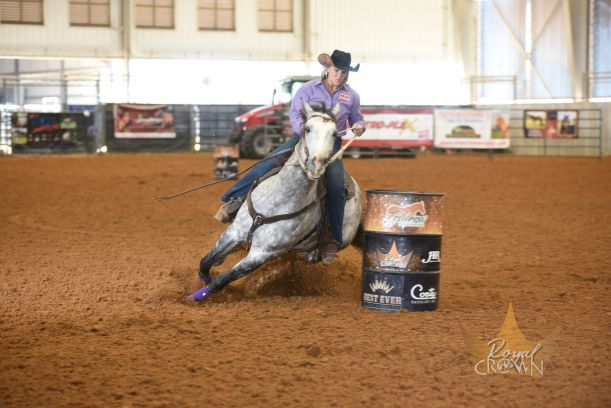 at royal crown futurity and derby in bryan tx, Omega Fields Spokespeople Shine at the Royal Crown Last Weekend