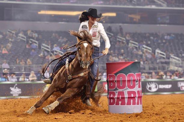 Hallie Hanssen Women's Rodeo World Championship, Omega Fields Spokesperson, Hallie Hanssen article in Western Horseman's March 2021 Magazine