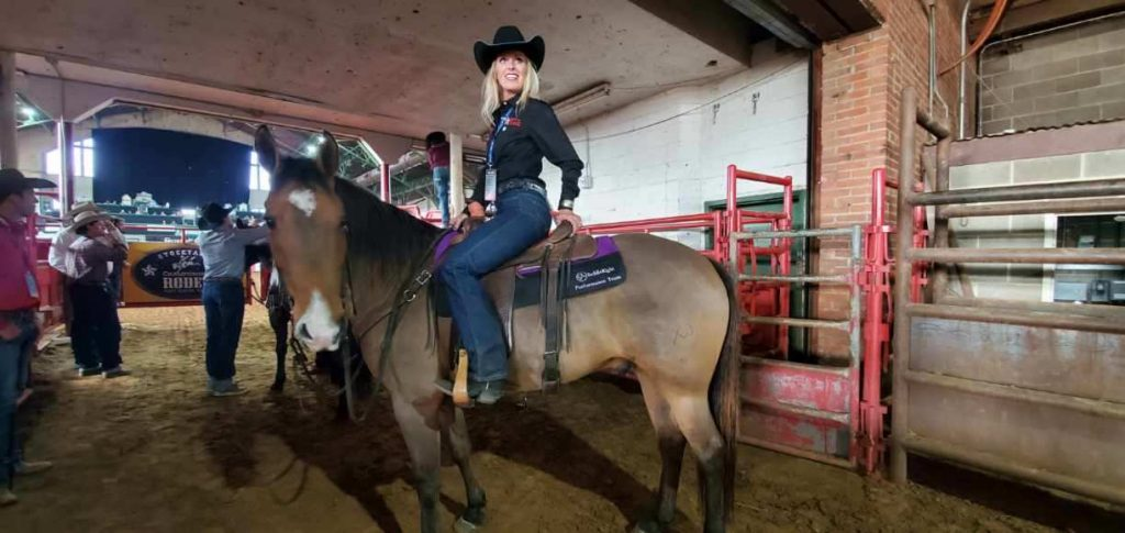 Omega Fields Spokesperson Wylene Davis 2nd place finish at Road to the Horse Competition, Omega Fields Spokesperson, Wylene Davis 2nd place finish at Road to the Horse Competition